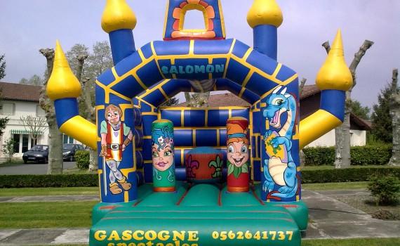 Gonflables jeux page 6 gascogne spectacles - Petit chateau gonflable ...